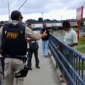Policial salvou homem que tentou suicídio!