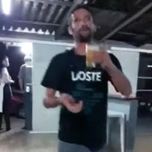 Prova que não tá bêbado
