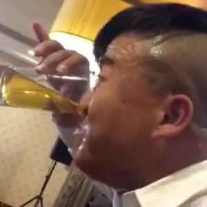 Não coloco mais nenhuma gota de álcool na boca!