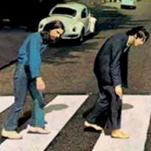 Foto do Beatles na Segunda Feira