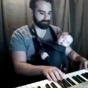 Jeito fácil de fazer bebê dormir