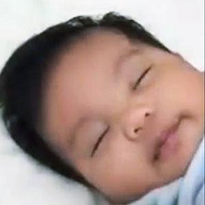 Técnica infalível para fazer bebê dormir