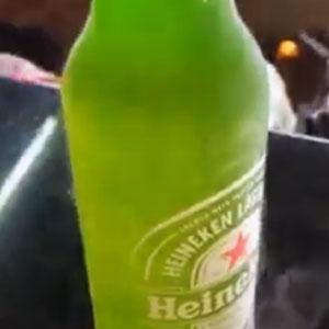 Cerveja gelada no ponto!