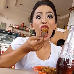 Aprenda comer sem estragar maquiagem