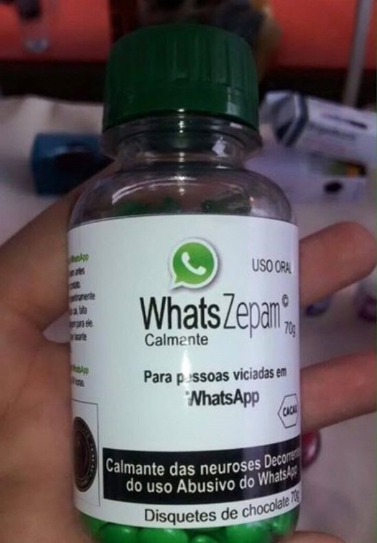 Remédio para Viciados em WhatsApp