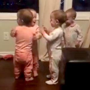 Amizade desde bebês