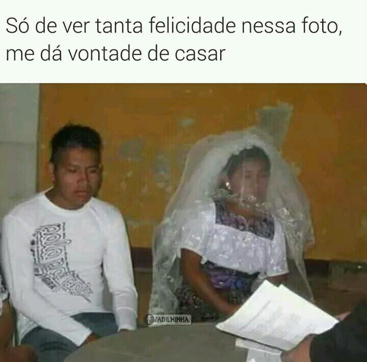 Até me deu vontade de casar!