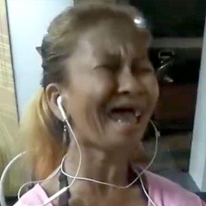 Miga louca cantando