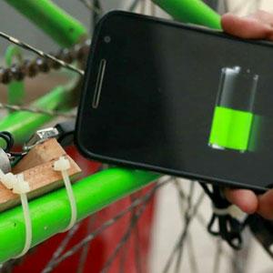 Carregador de celular para bicicleta (caseiro!)