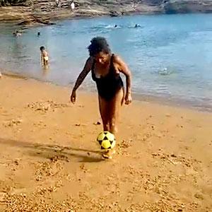 Véia boa de bola