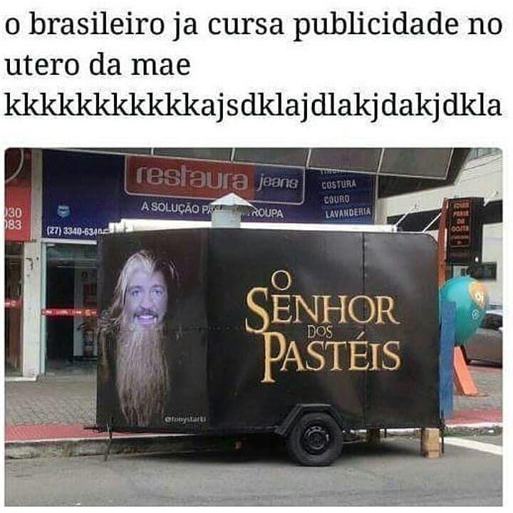 Brasileiro mestre em publicidade