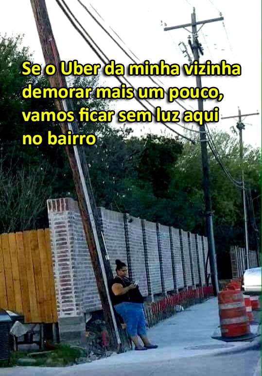Uber demorando