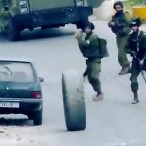 Exército enfrentando caminhoneiros