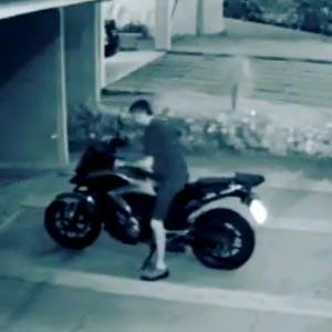 Comprou uma moto nova