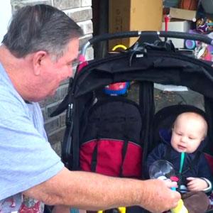 Avós e Bebês – Combinação perfeita!