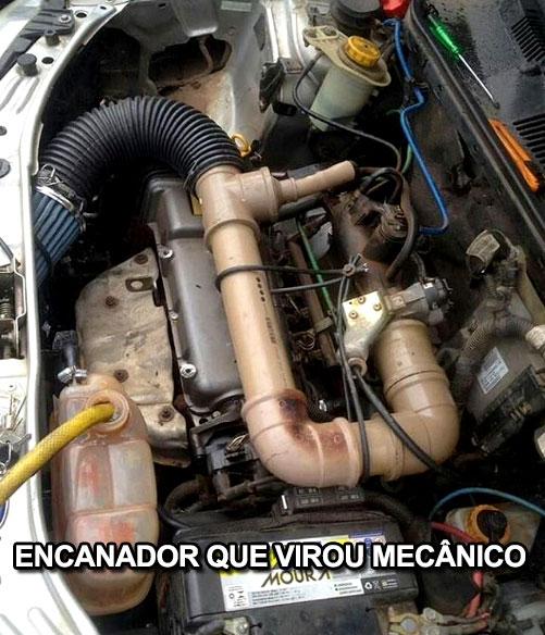 Encanador que virou mecânico