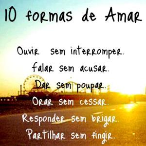 10 formas de amar