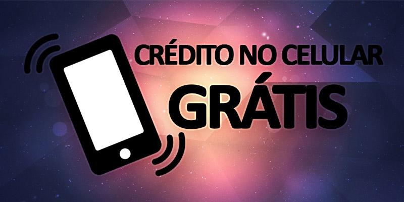 Crédito Celular Grátis