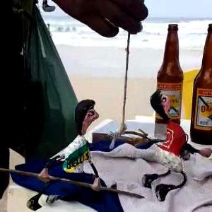 Para comemorar vitória do Bolsonaro contro o Hadadd