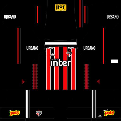 Uniforme 2 São Paulo