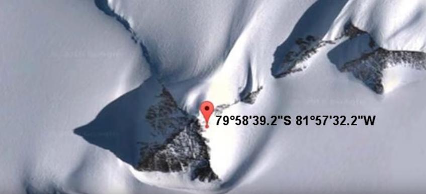 Pirâmides encontradas pelo Google Maps