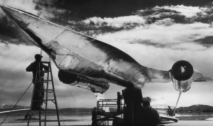 avião super sônico