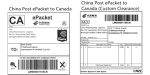 Rastreamento ePacket