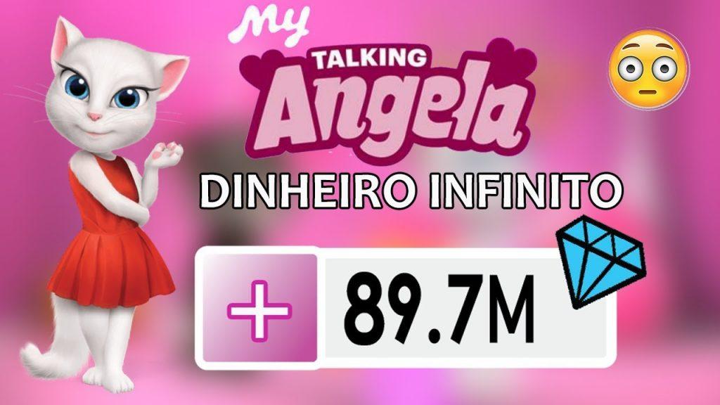 My Talking Angela Dinheiro Infinito