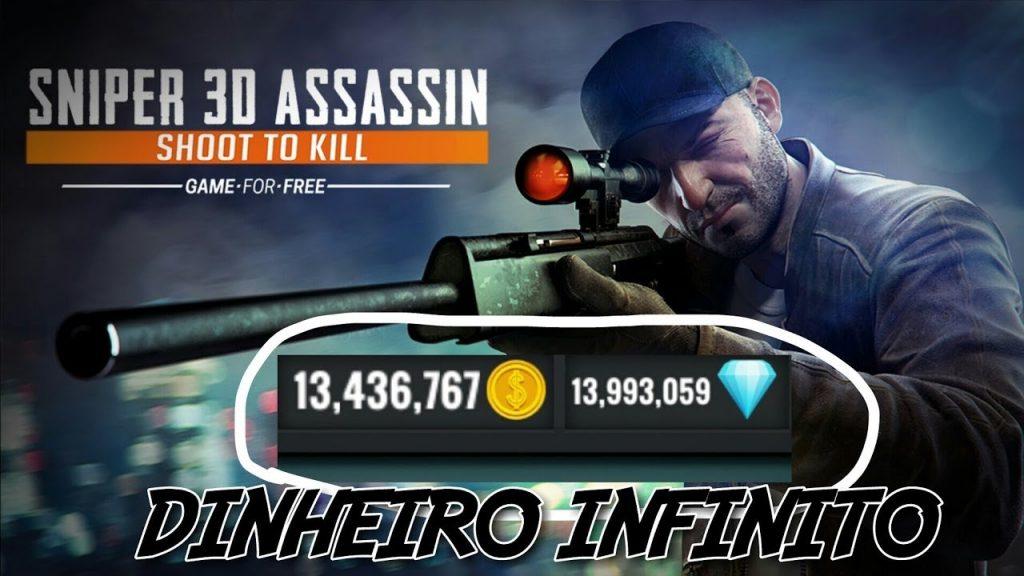 Sniper 3D Dinheiro Infinito