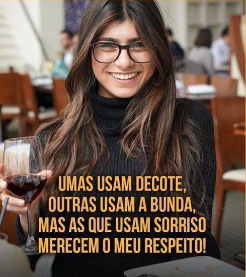 Quem usa o sorriso, merece respeito!