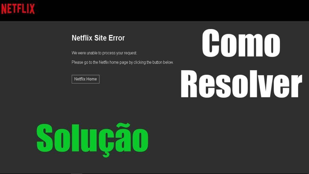 Erro Netflix
