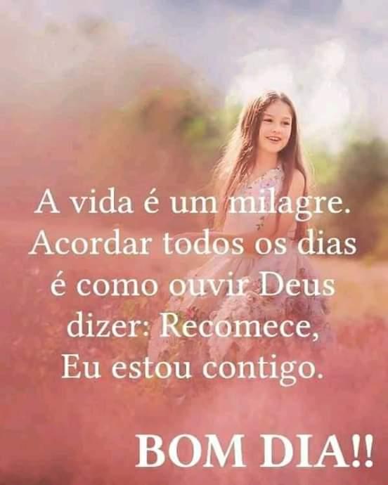 A vida é um milagre